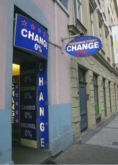Курс валют в праге