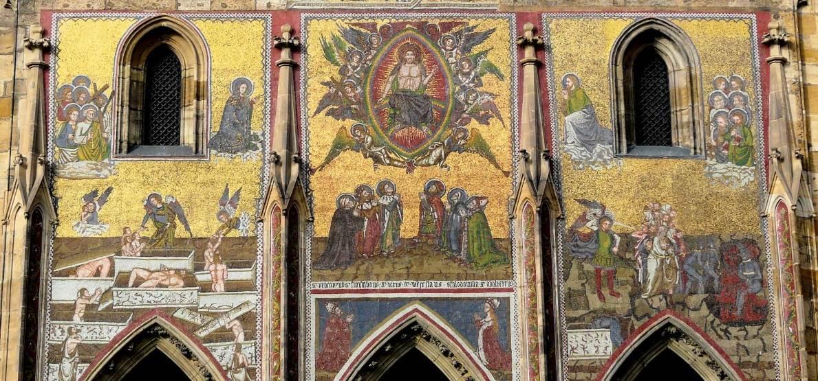 Мозаика «Страшный суд», Собор святого Вита
