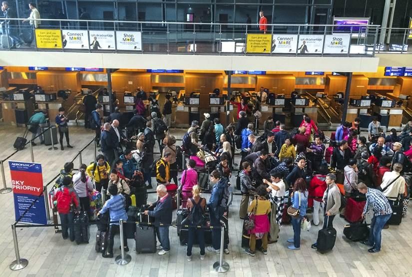 сколько занимает регистрация в аэропорту кредит на исполнение государственного контракта